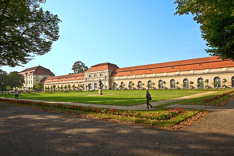 The Orangerie at Charlottenburg Palace in Berlin