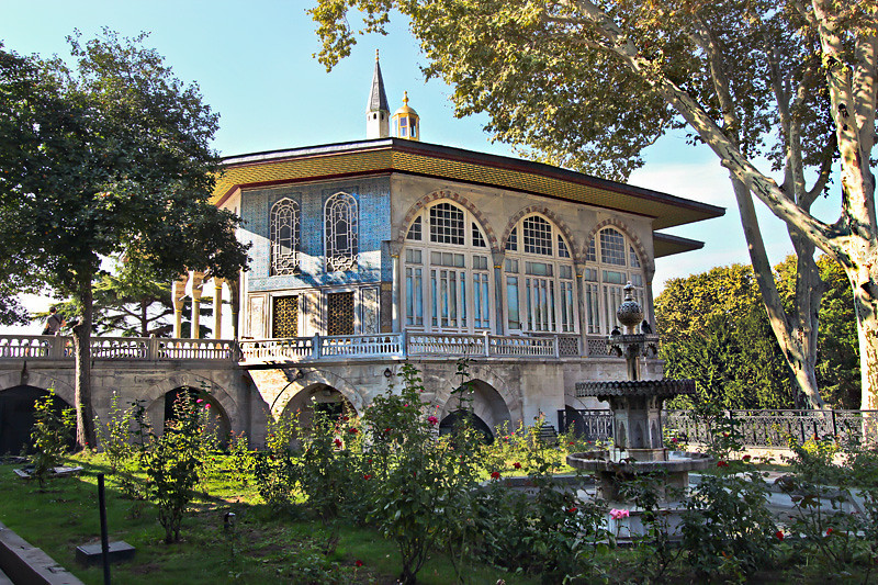 Baghdad Pavilion at the Topkapi Palace in Istanbul, Turkey
