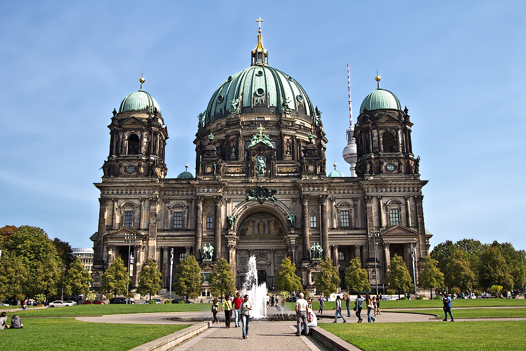 Berliner Dom Protestant Cathedral in Berlin