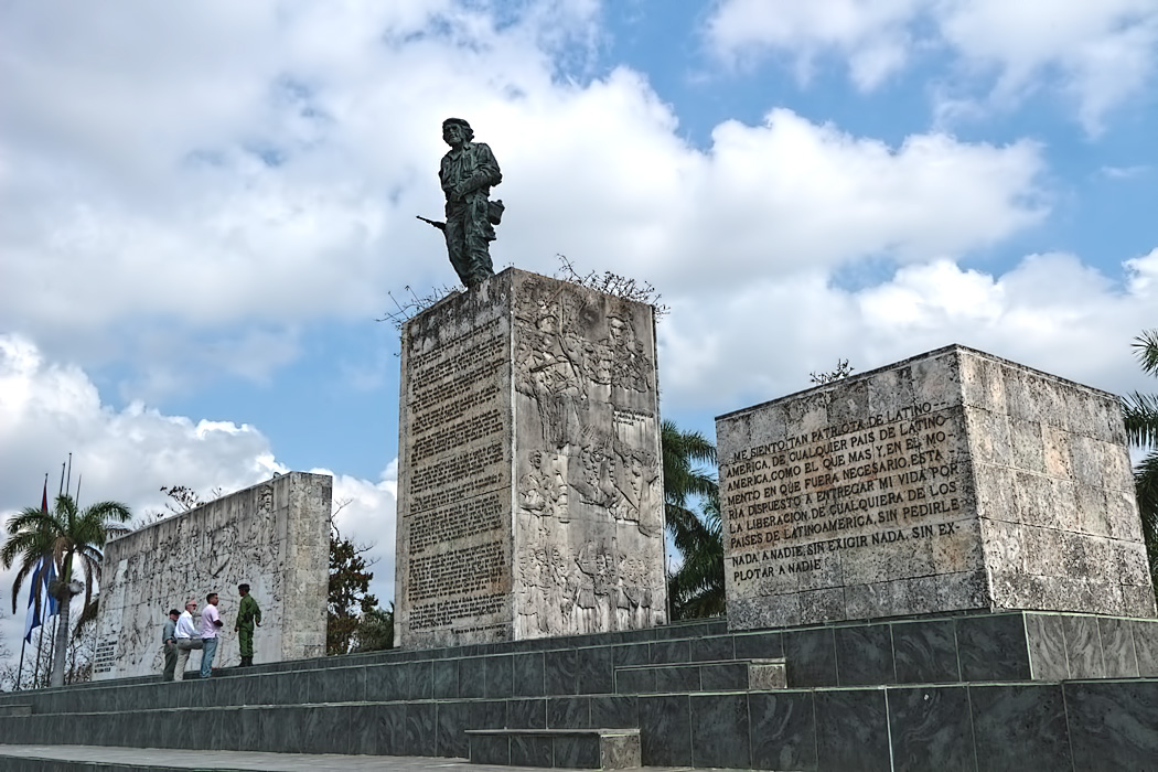 Revolution Plaza in Santa Clara, Cuba, home to Che Guevarra memorial and mausoleum