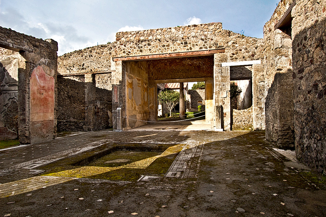 The House of Caecilius Jucundu at Pompeii, partially destroyed by the eruption of 79 AD, was owned by a banker. Bank bookkeeping records and receipts on wax tablets were found in the home.
