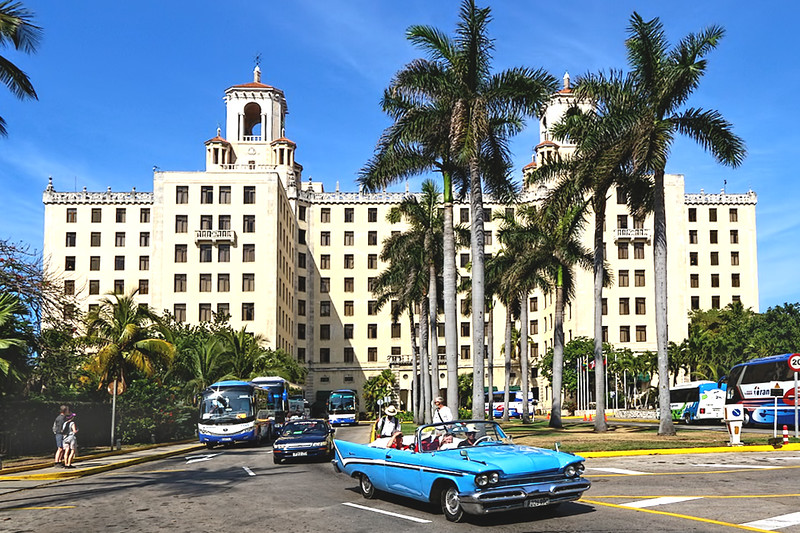 Hotel Nacional in Havana, the most famous hotel in Cuba