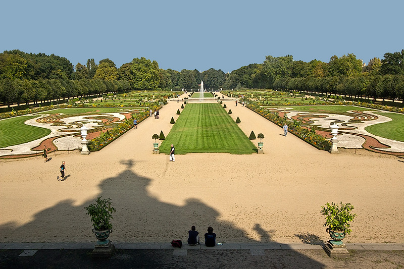 Baroque Gardens at Charlottenburg Palace