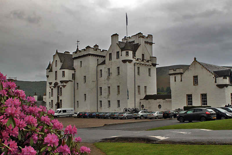 Blair Castle in Blair, Scotland