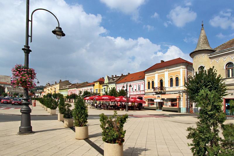 Charming town of Turda, Romania is best known for the Salina Turda Salt Mine