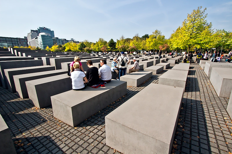 Memorial to the Murdered Jews of Europe in Berlin