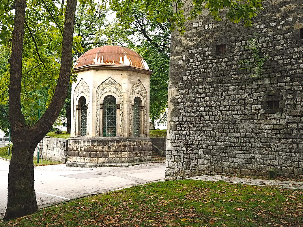 Two of the most interesting structures in Bihac, Bosnia-Herzegovina: an uncommon octagonal style