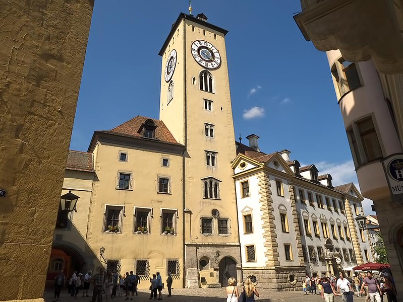 Old Town Hall (Altes Rathaus) in Regensburg, Germany was home to the Perpetual Imperial Assembly from 1663 to 1806, bringing great wealth to the city